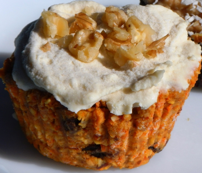 Raw Vegan Carrot Cupcake Recipe