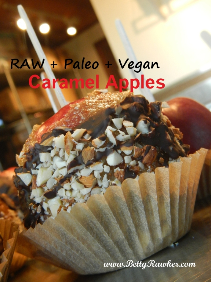 Raw Vegan Paleo *Caramel Apple* Recipe