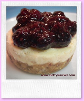 blue berry cheezecake