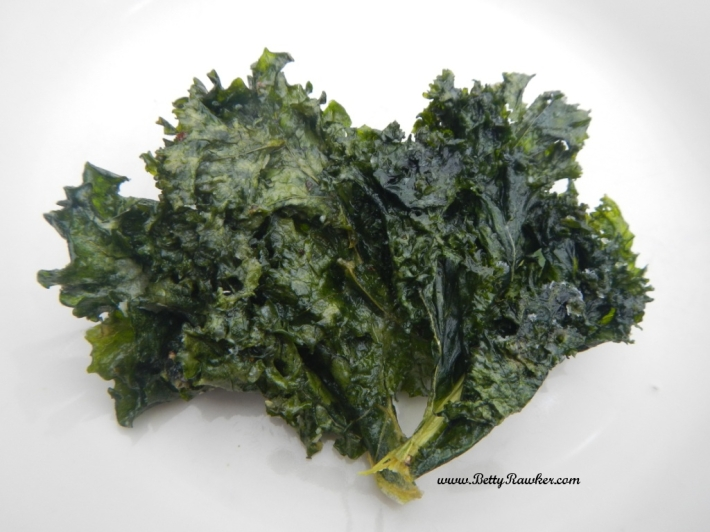 Betty Rawker's kale chip recipes