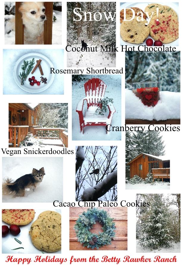 4 Paleo/Vegan Holiday Cookie Recipes! #BettyRawker