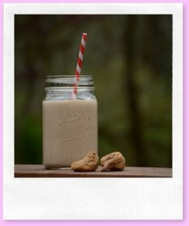 Vanilla Fig Shake #raw #vegan #paleo