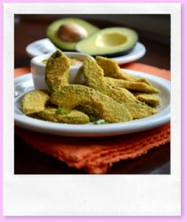 Avocado Fries - RAW - Paleo - Vegan